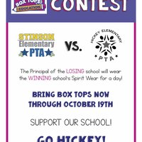 Box Tops Contest Fall 2018