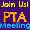 Purple PTA Meeting Square