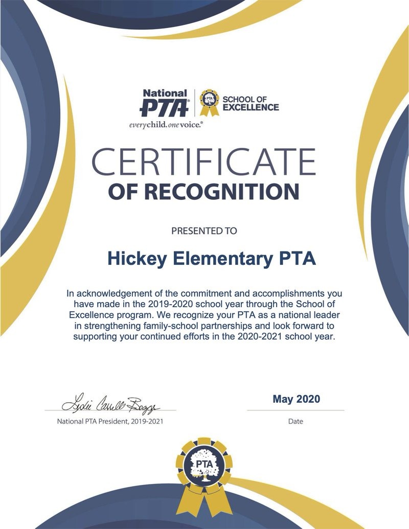 2020 certificate of recognition