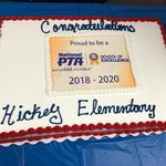 National School of Excellence Cake