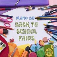 Plano ISD Back to School Fairs
